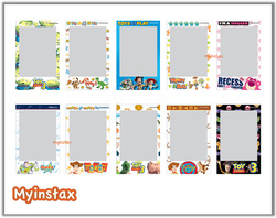 Fujifilm Instax Mini Cartoon Films Exclusive Designs Limited Design Per Box 1